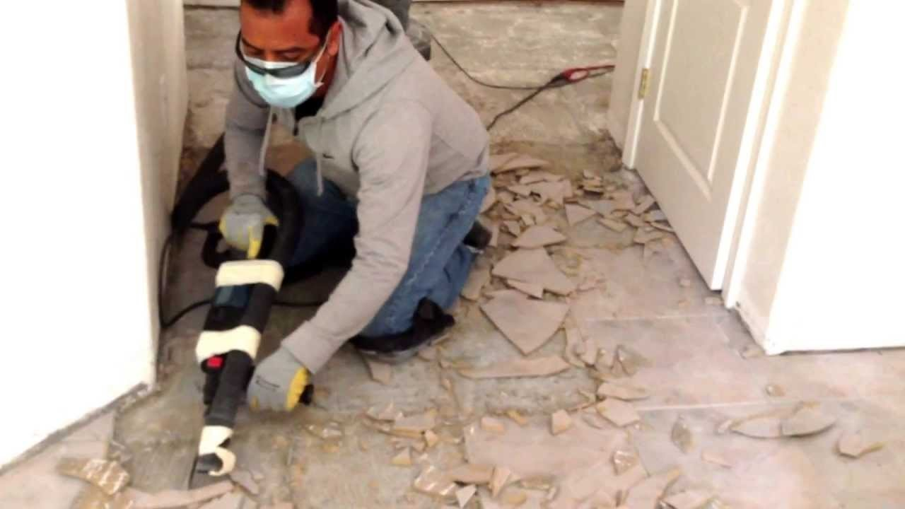 Best Way To Remove Ceramic Tile