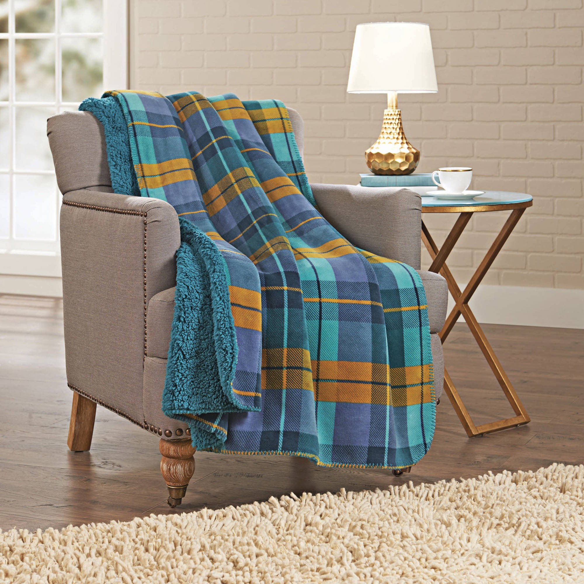 Better Homes And Gardens Sherpa Throw