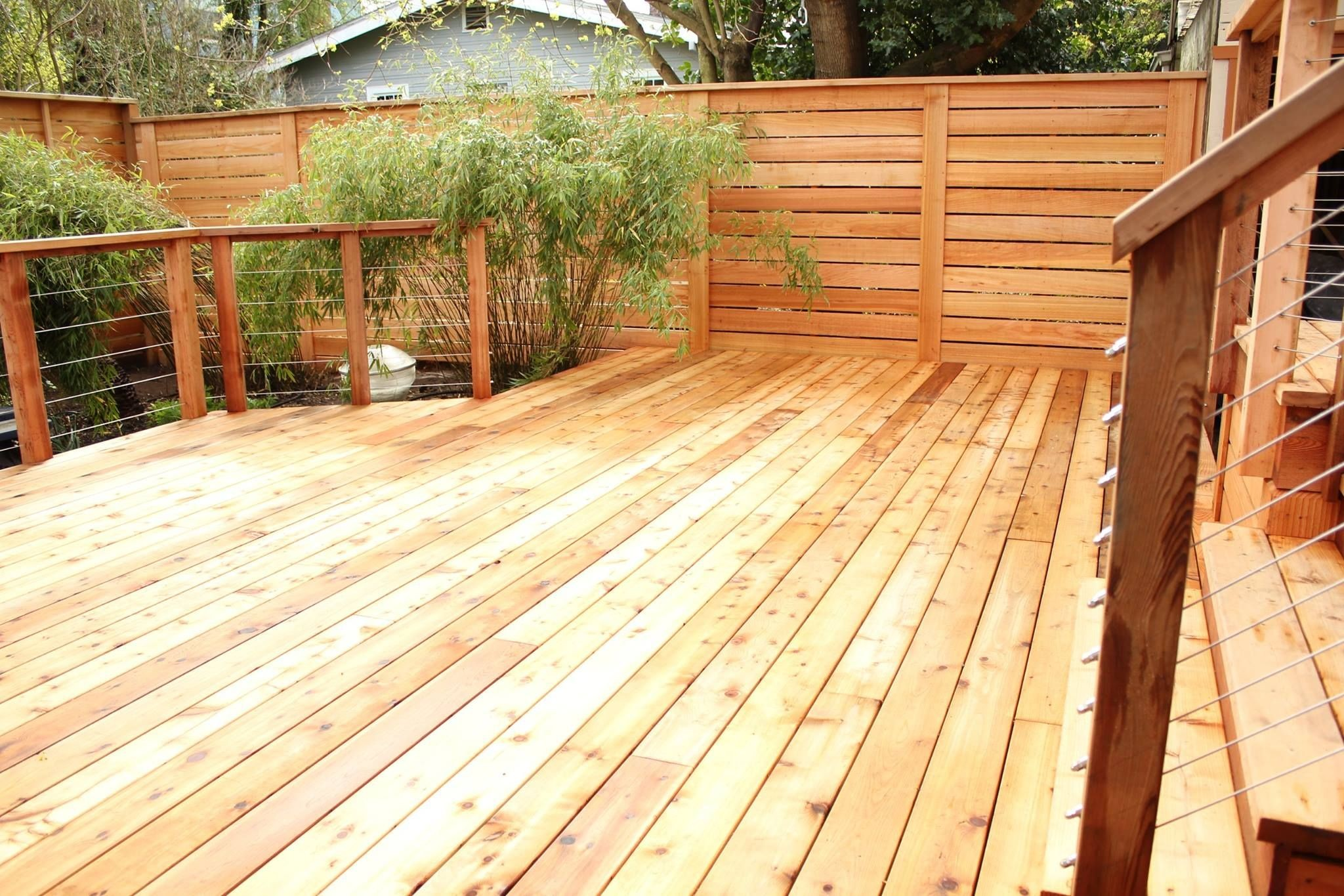 Cascade Fence And Deck