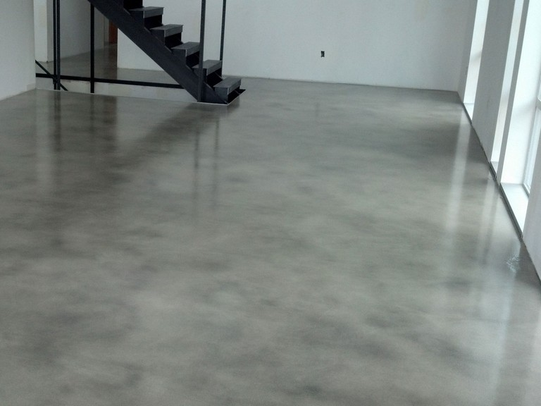 Concrete Floor Finishes Basement
