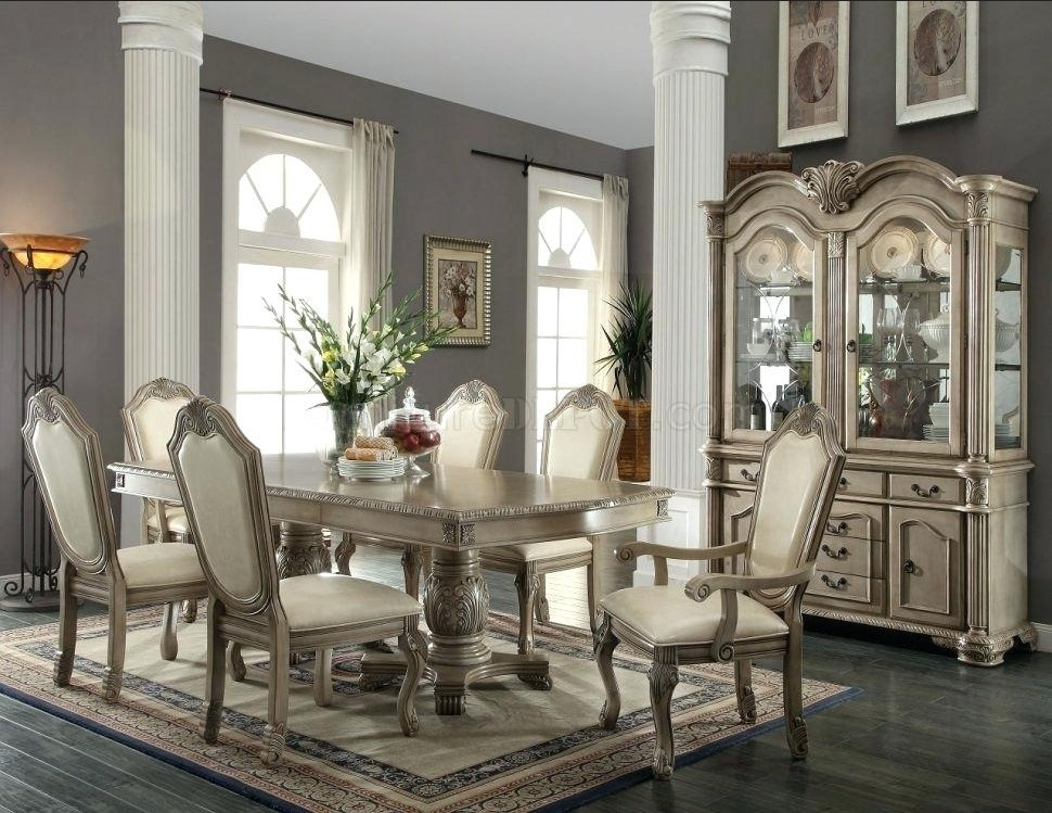 Cream Colored Dining Room Sets
