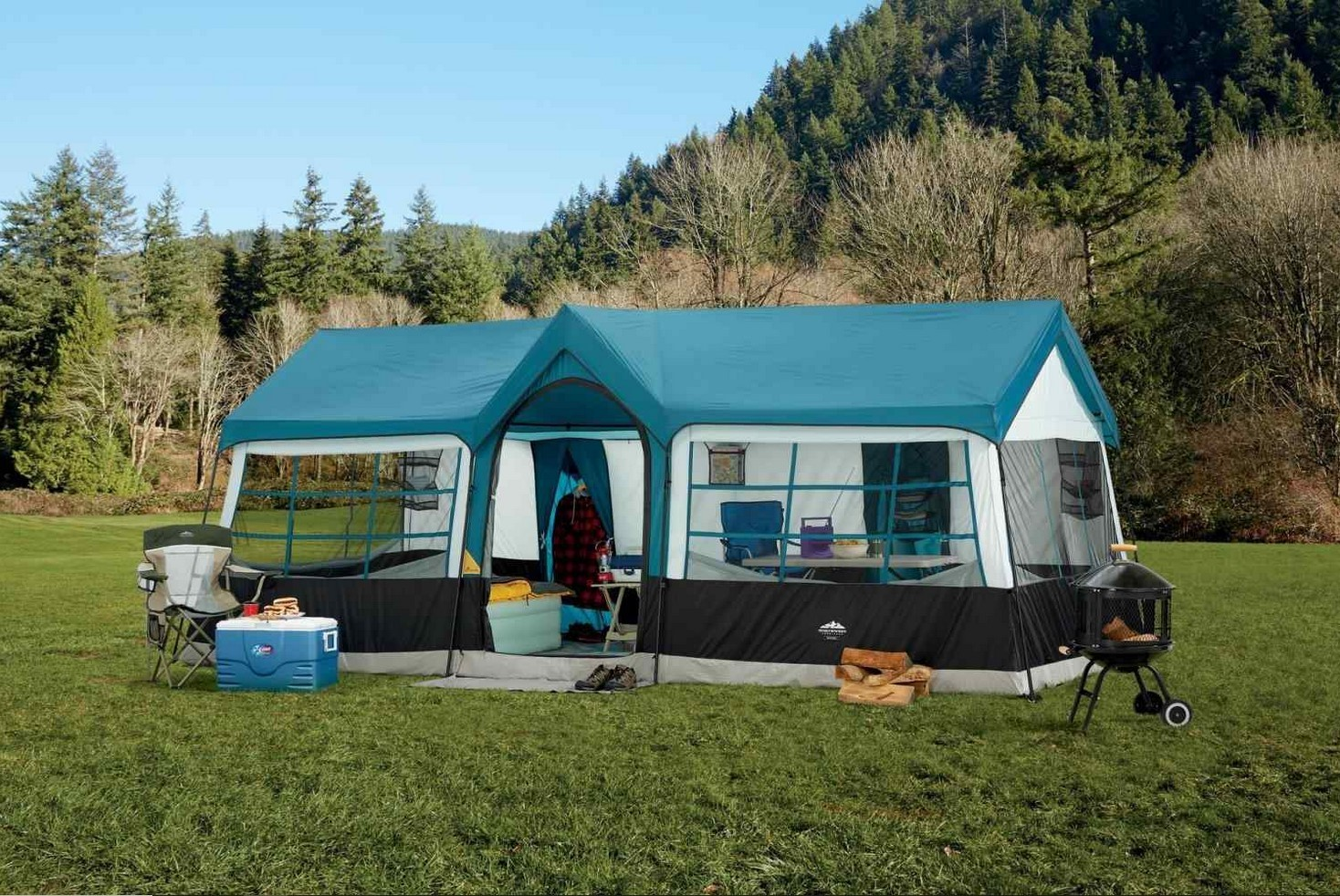 Family Tents With Rooms
