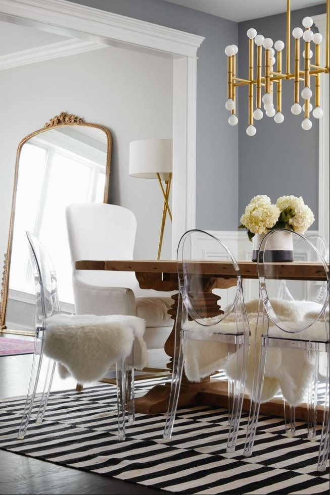 Glam Dining Room Sets