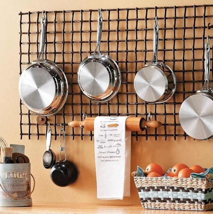 Hanging Pot Rack Ideas For Small Kitchens