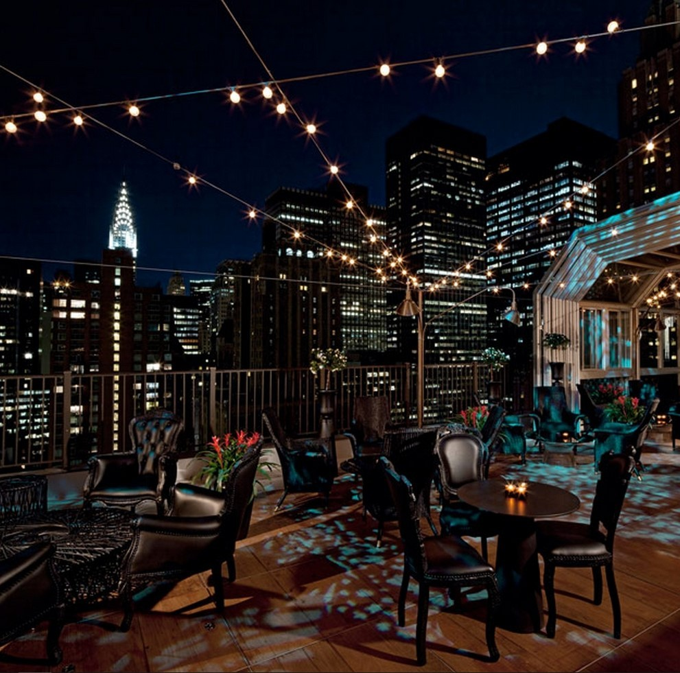 Hotel Rooftop Bars Nyc