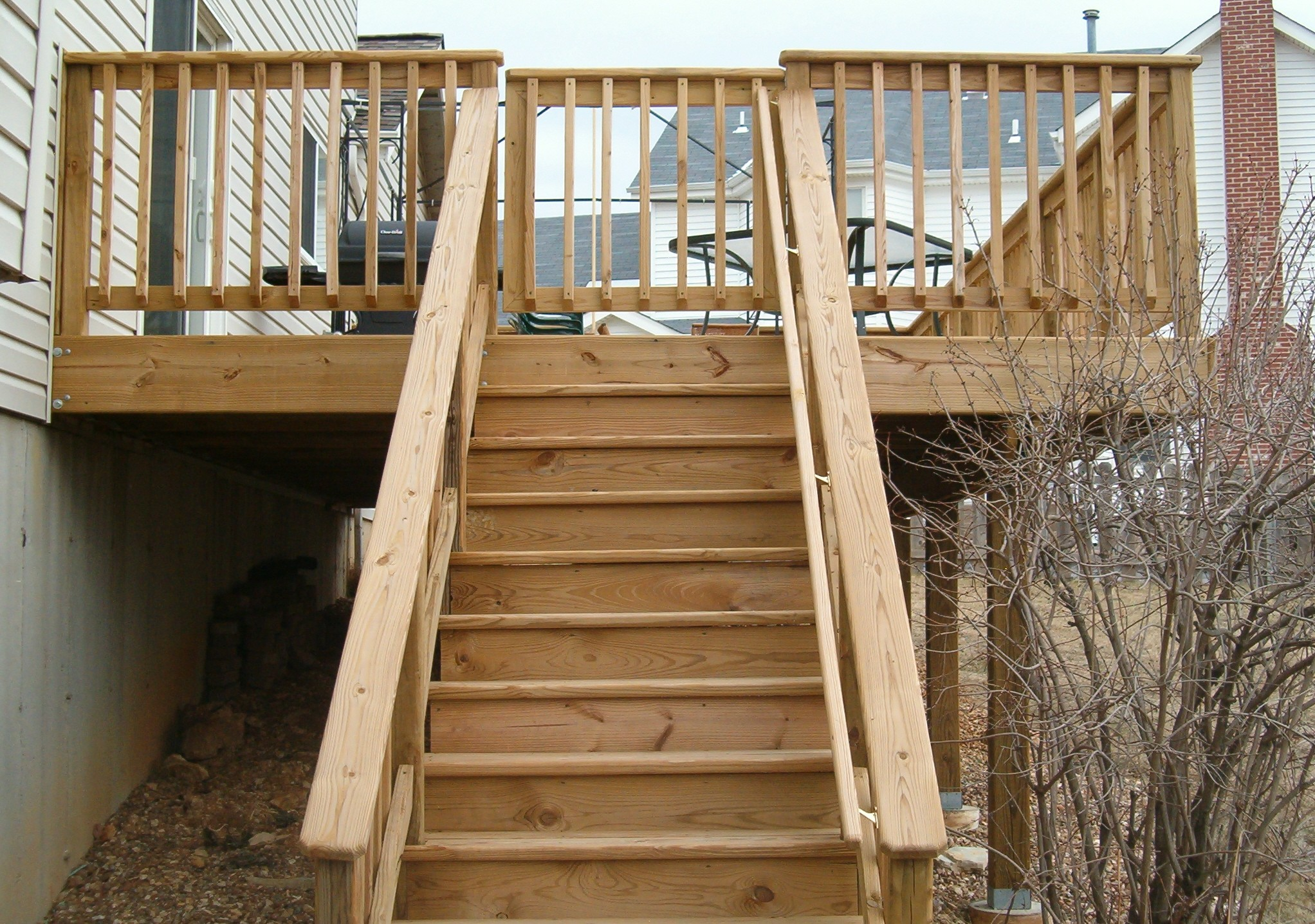 How To Build Steps For Deck