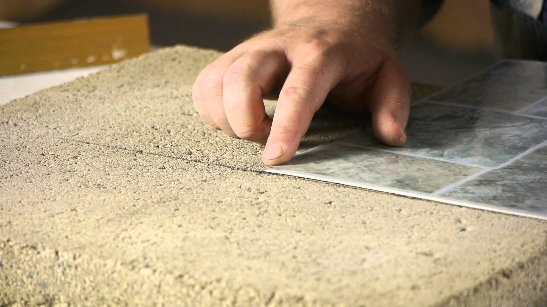 How To Install Linoleum Tiles