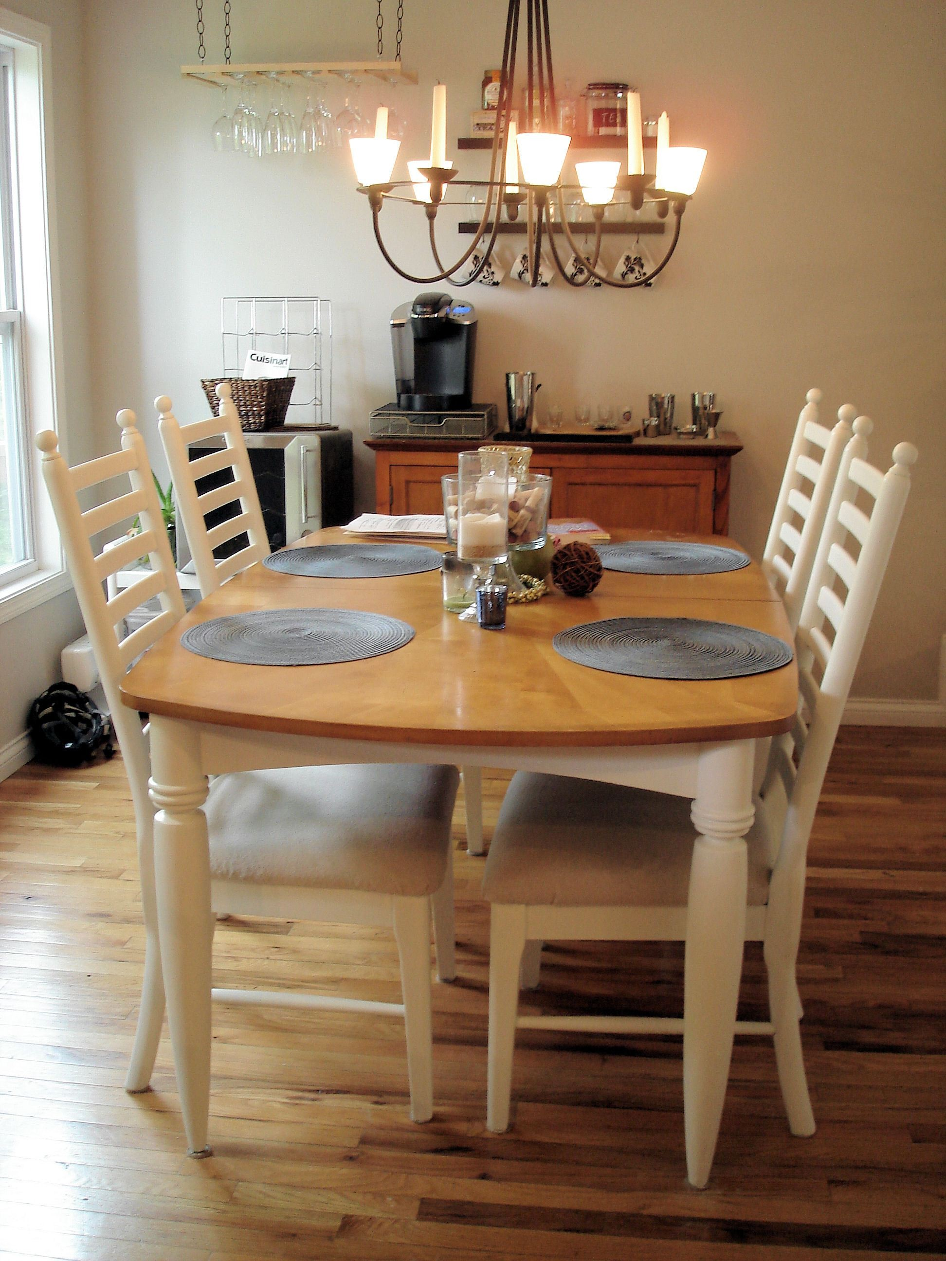 How To Paint A Dining Room Table Without Sanding