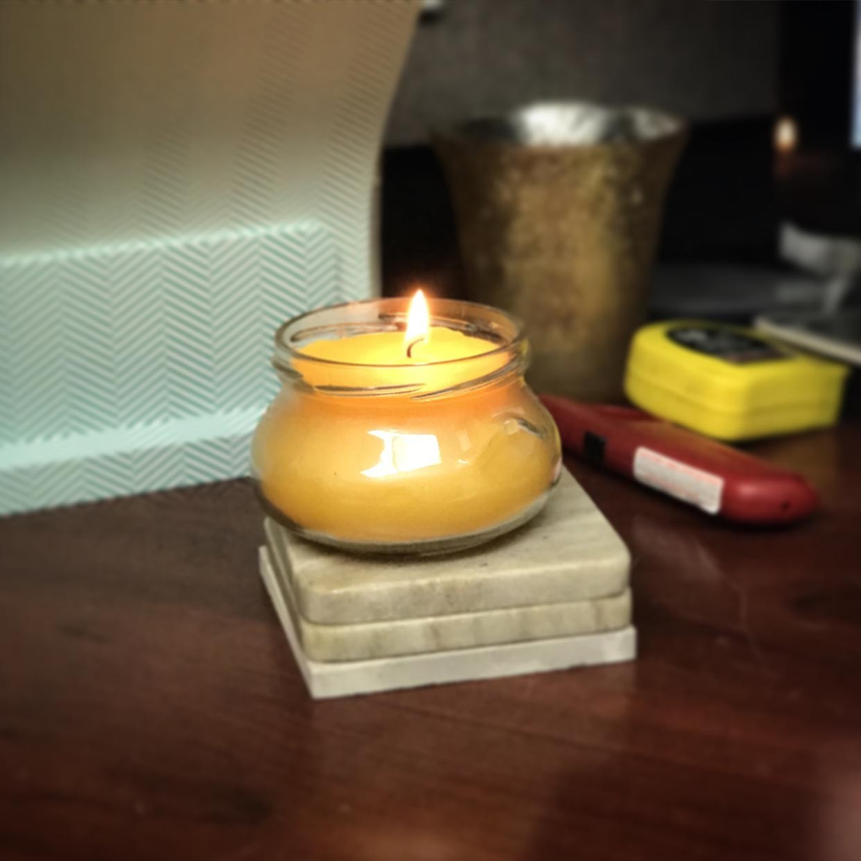 How To Put A Picture On A Candle