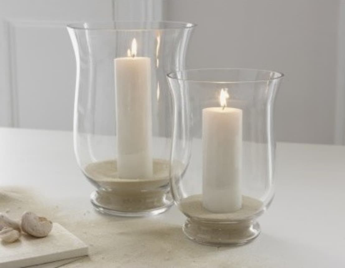 Hurricane Lamps For Candles