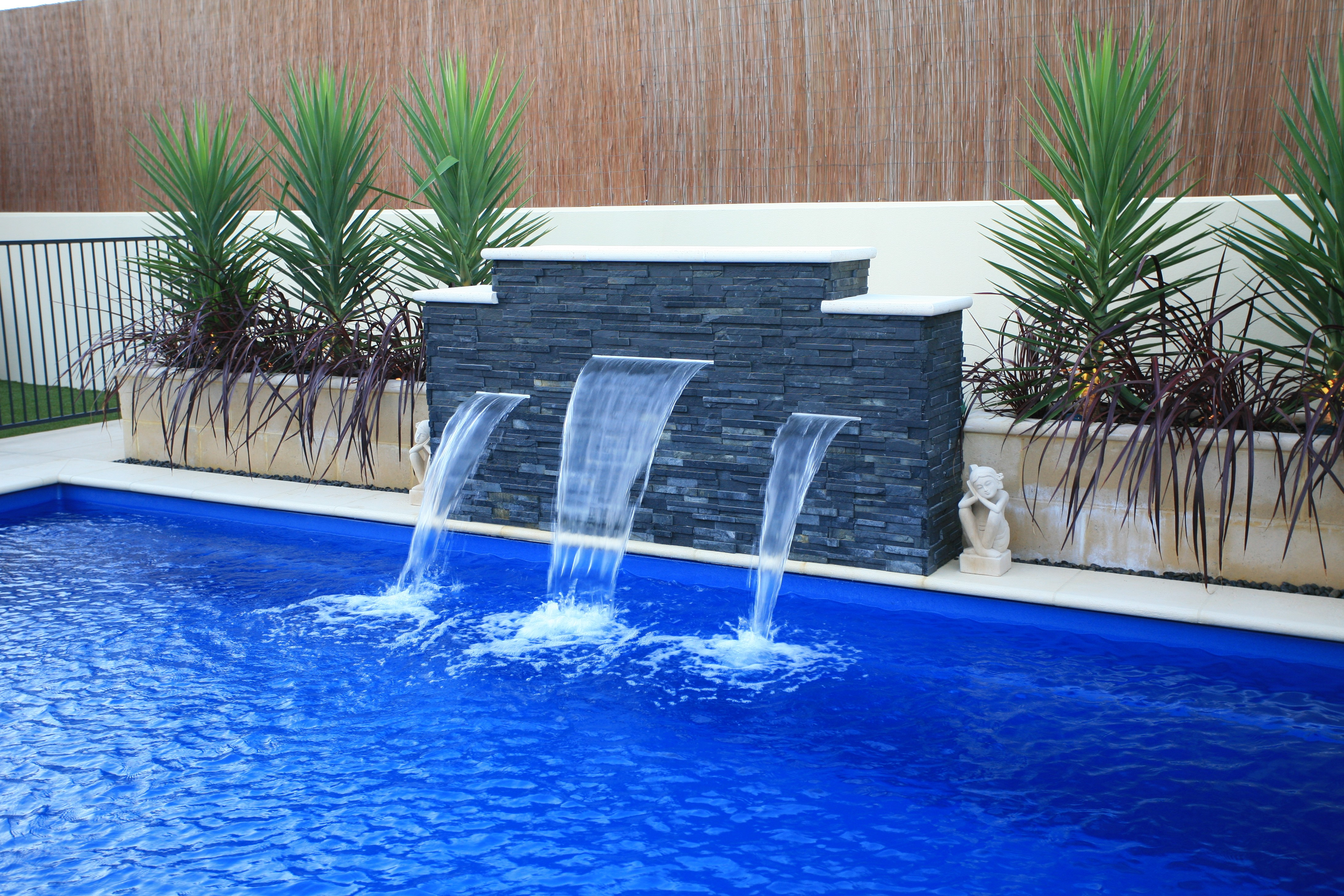 Inground Pool Water Features