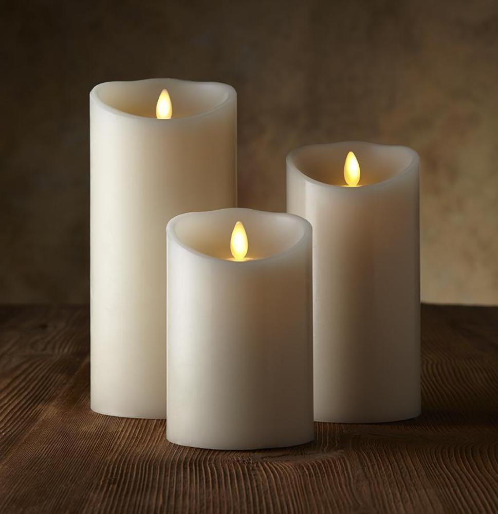 Luminara Flickering Flameless Candles