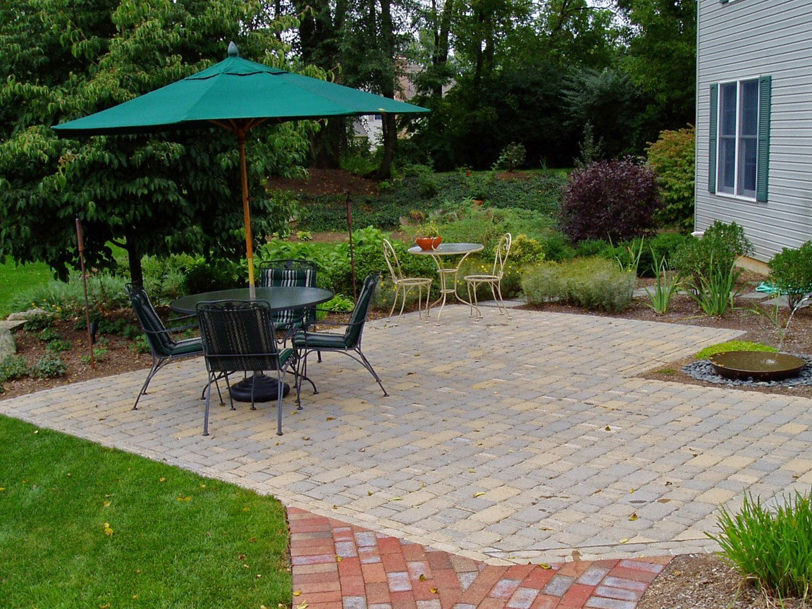 Paver Patio Estimate