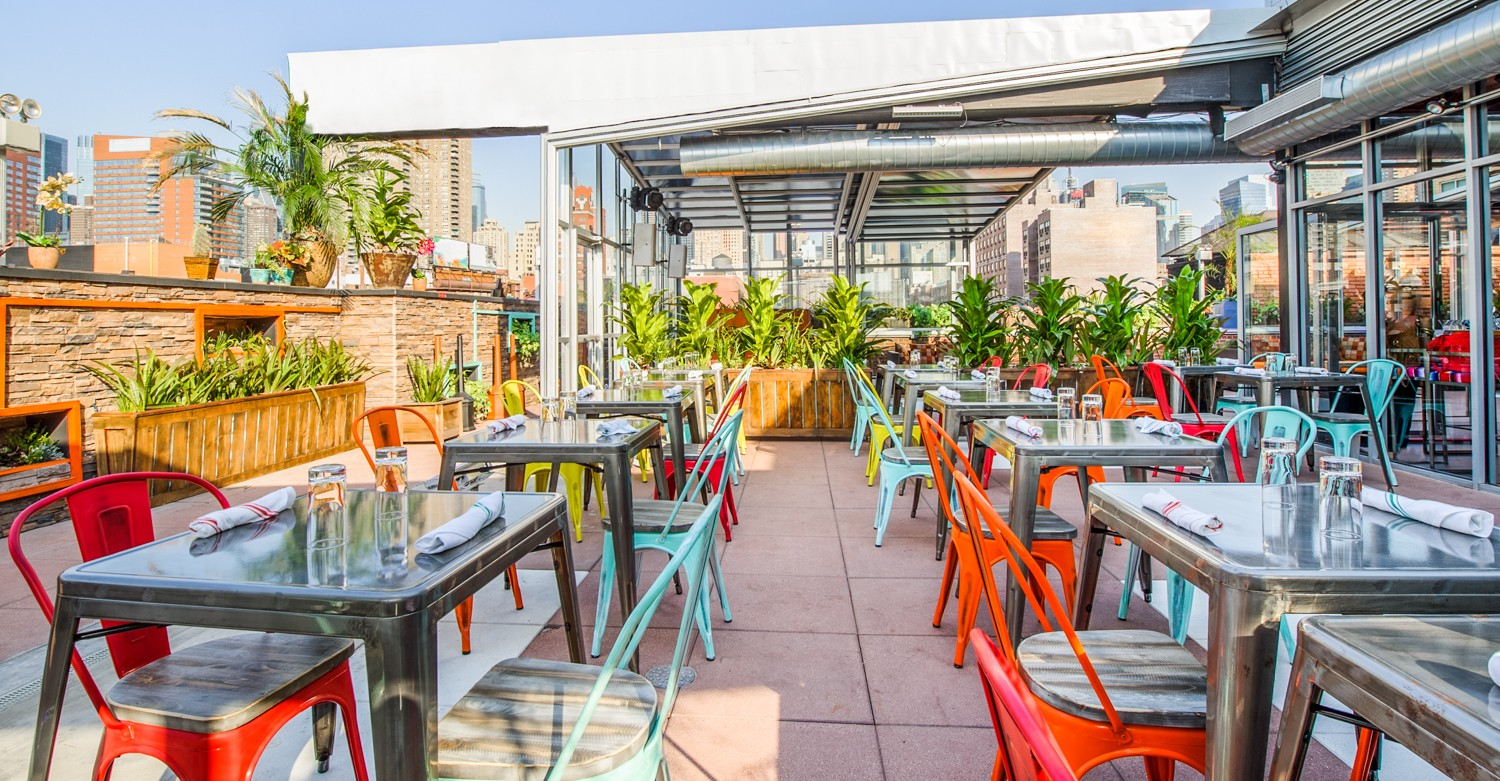 Rooftop Bottomless Brunch Nyc