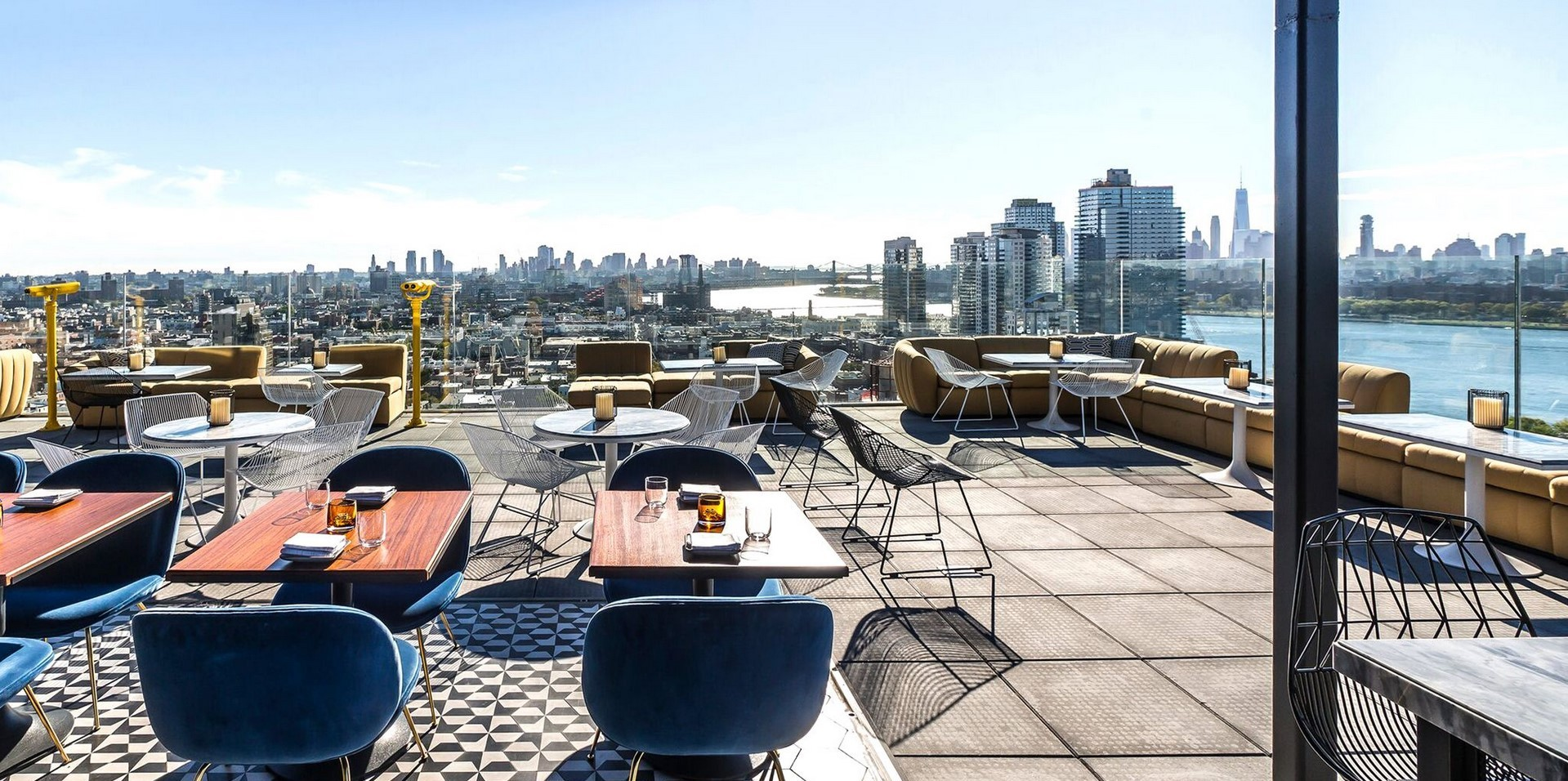 Rooftop Lounges Nyc