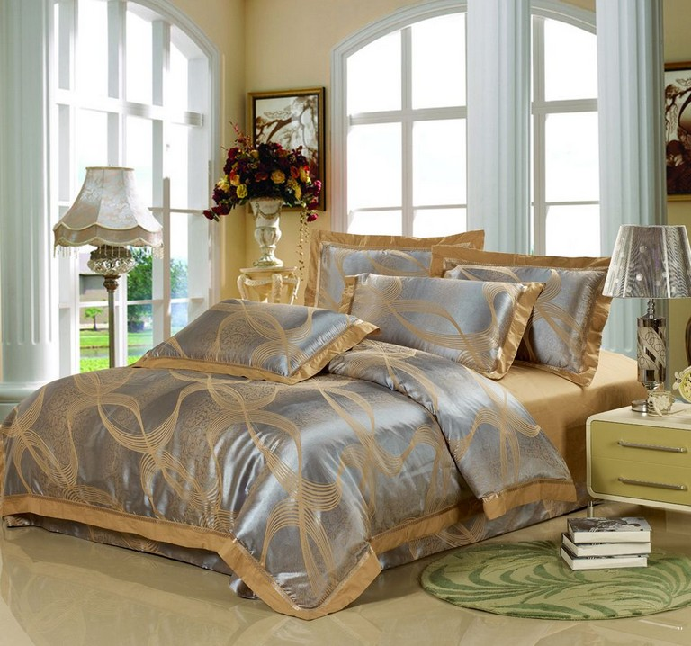 Silver And Gold Bedding Sets