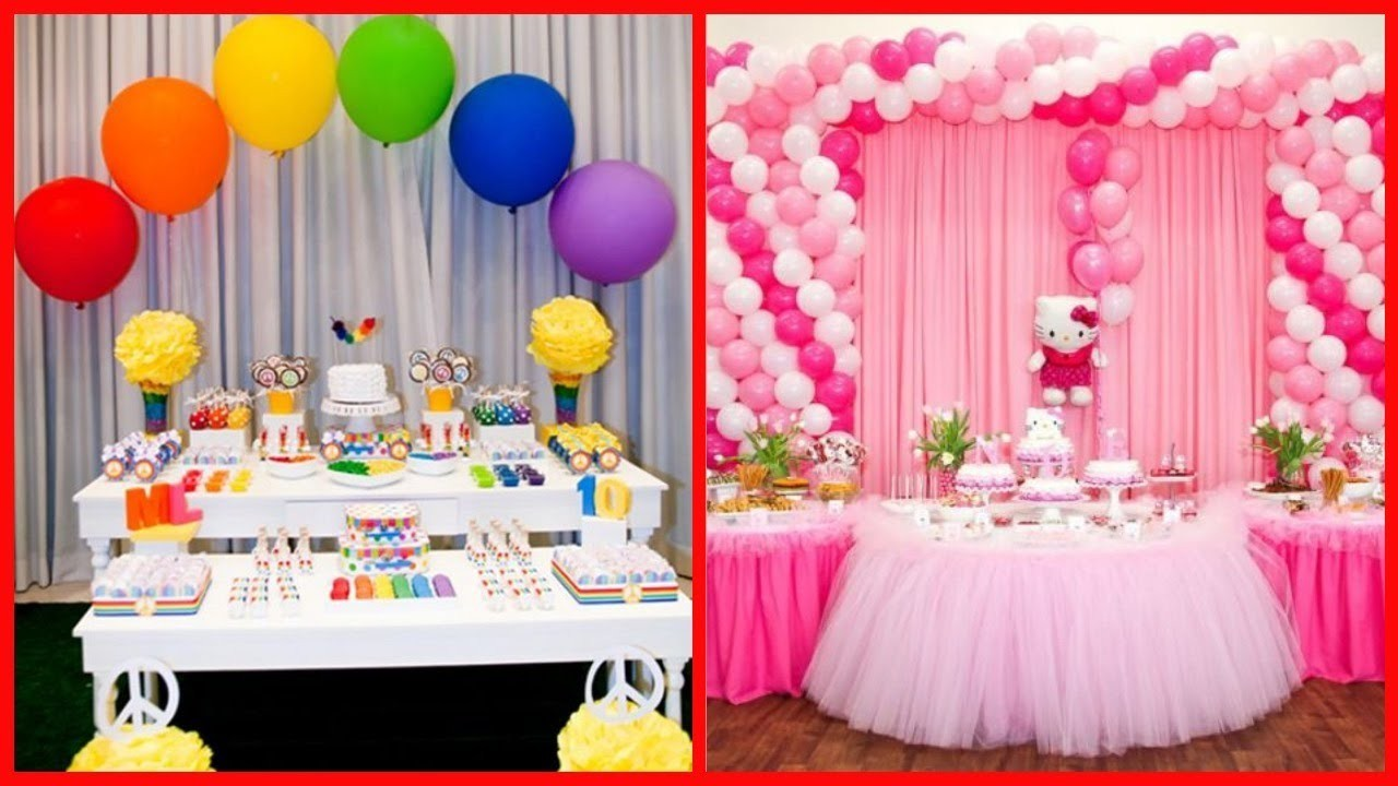 Spa Party Decorations Ideas