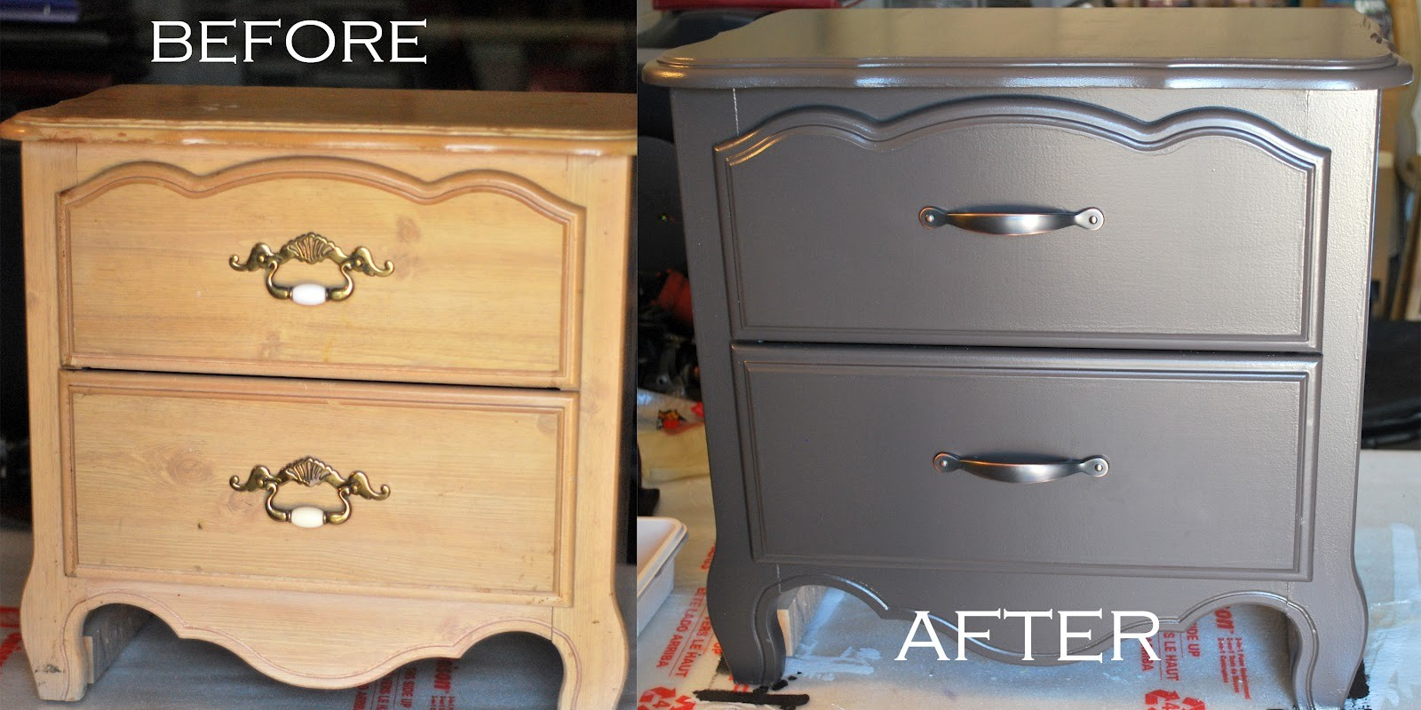 Spray Painting Wood Furniture Without Sanding