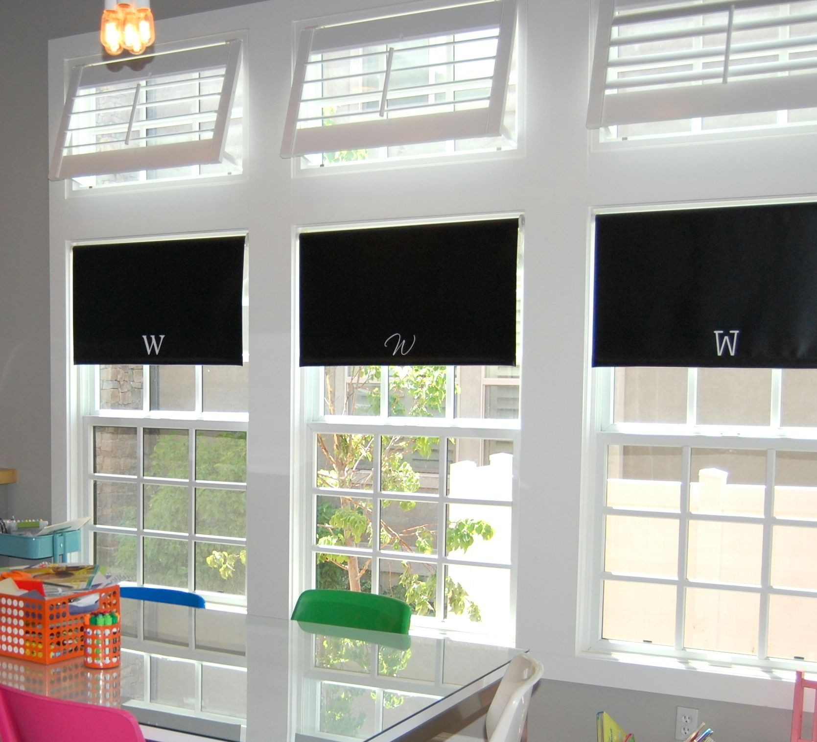 Transom Window Blinds