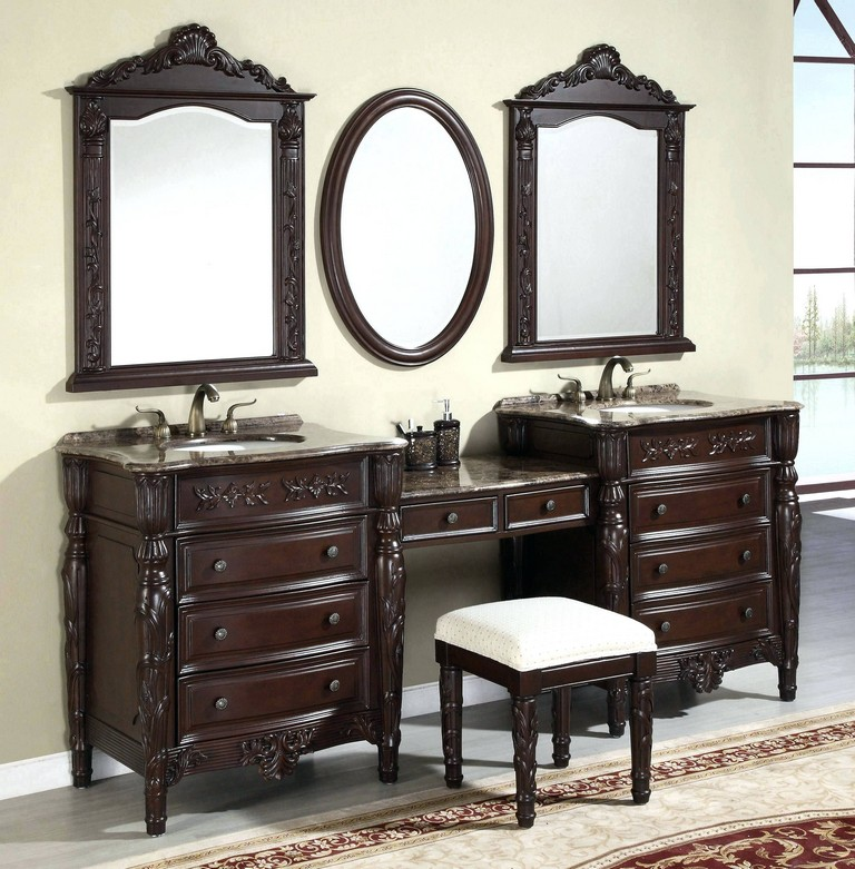 Vintage Looking Bathroom Vanities