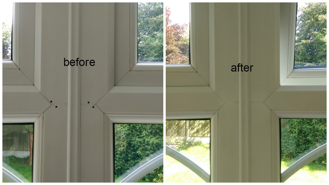 Vinyl Window Frame Repair