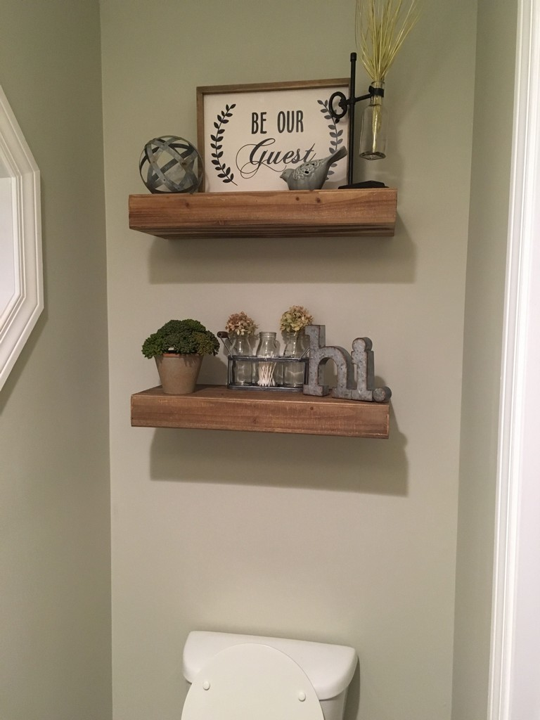 What To Put On Bathroom Shelves