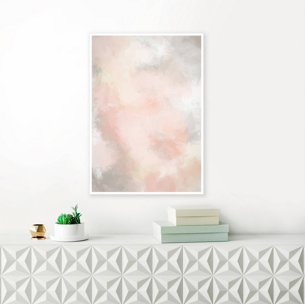 Blush Wall Art