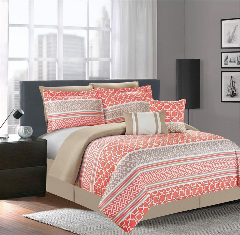 Coral Bedding Sets Queen