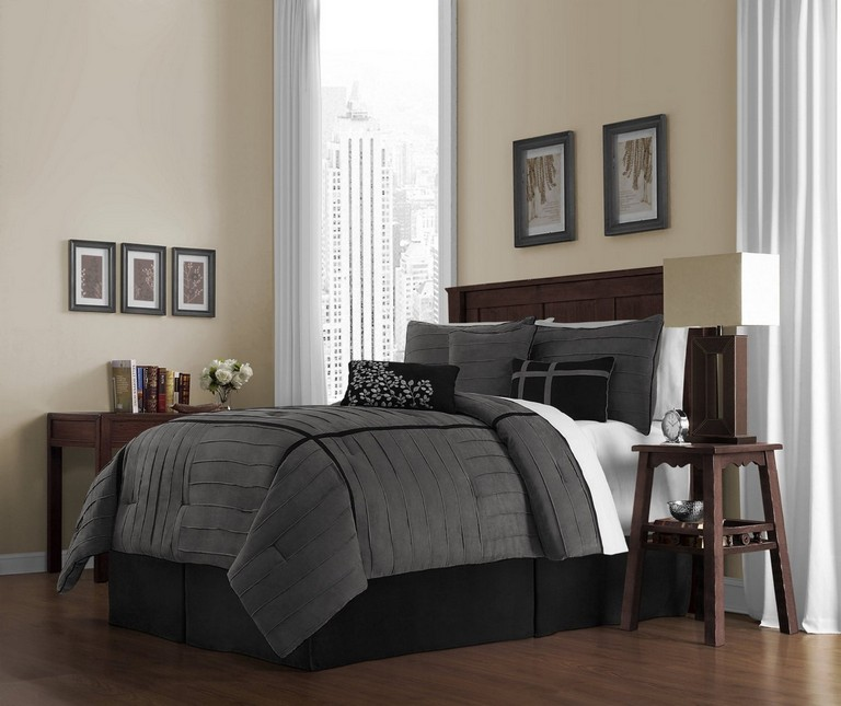 Dark Grey Bedding Sets