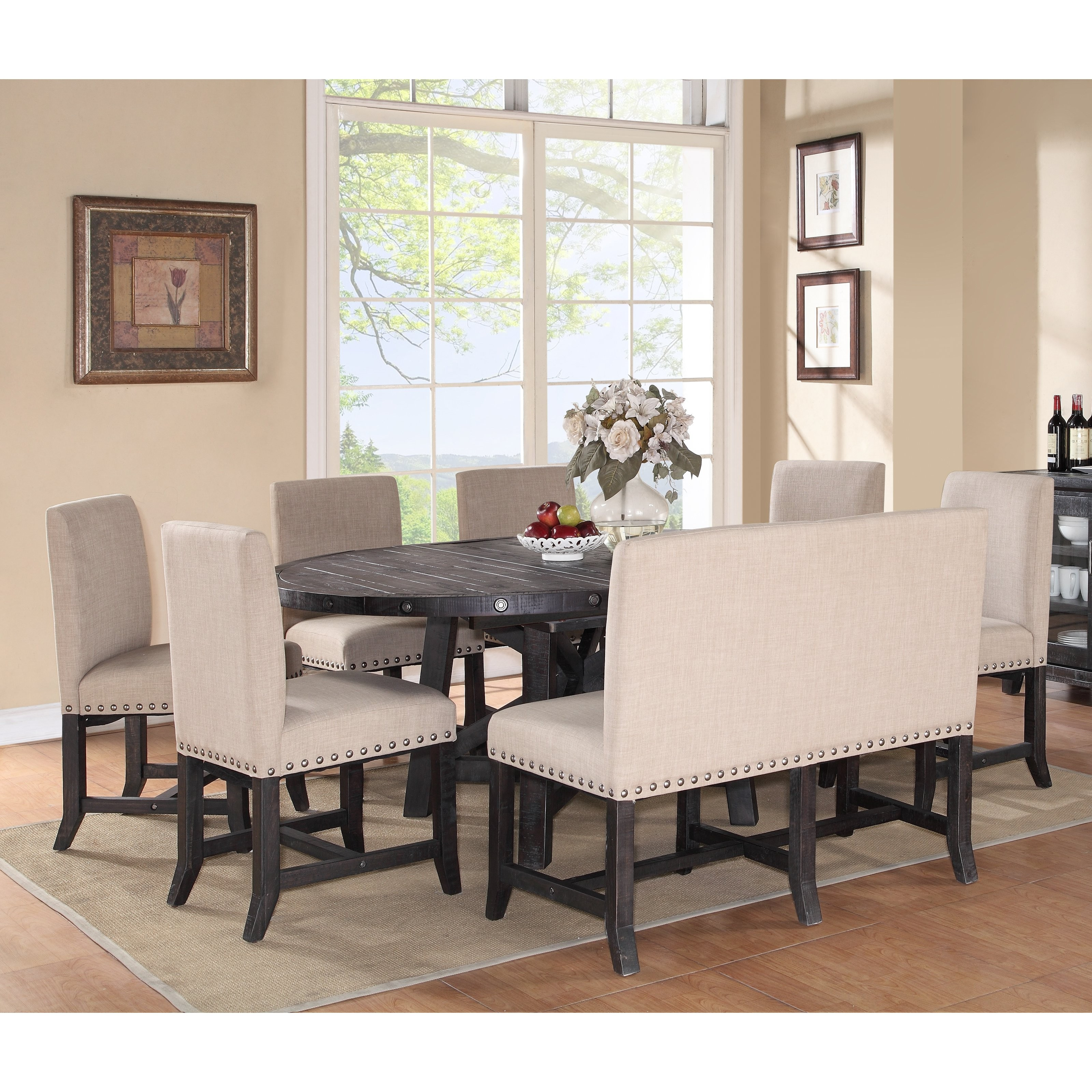 Dining Room Sets With Upholstered Chairs