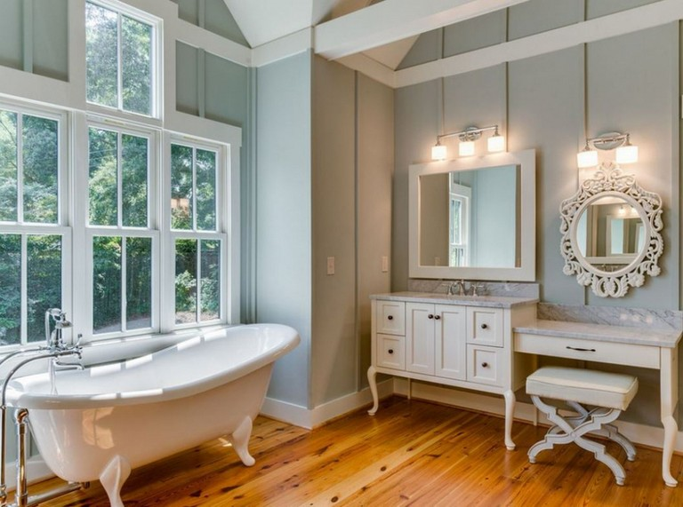 French Country Bathroom Mirrors