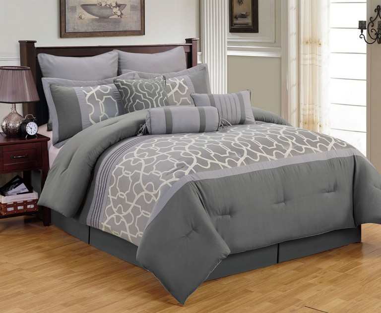 Gray Bedding Sets