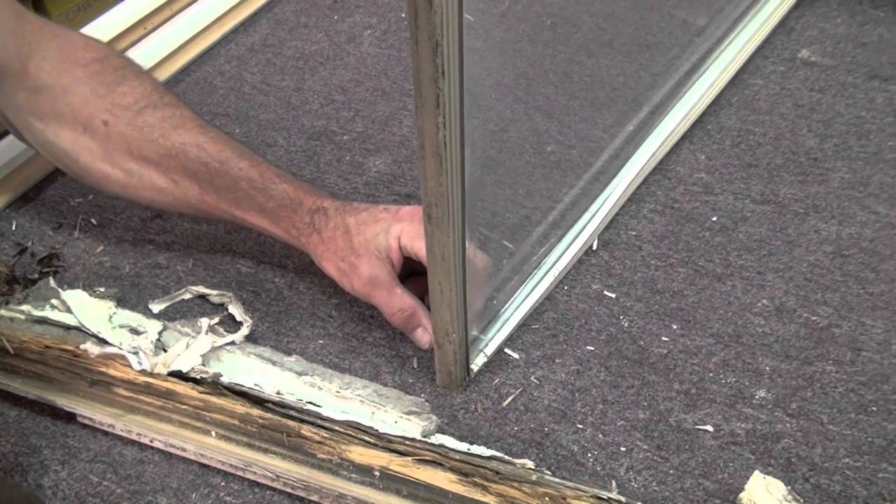 How To Repair Rotted Wood Window Frame