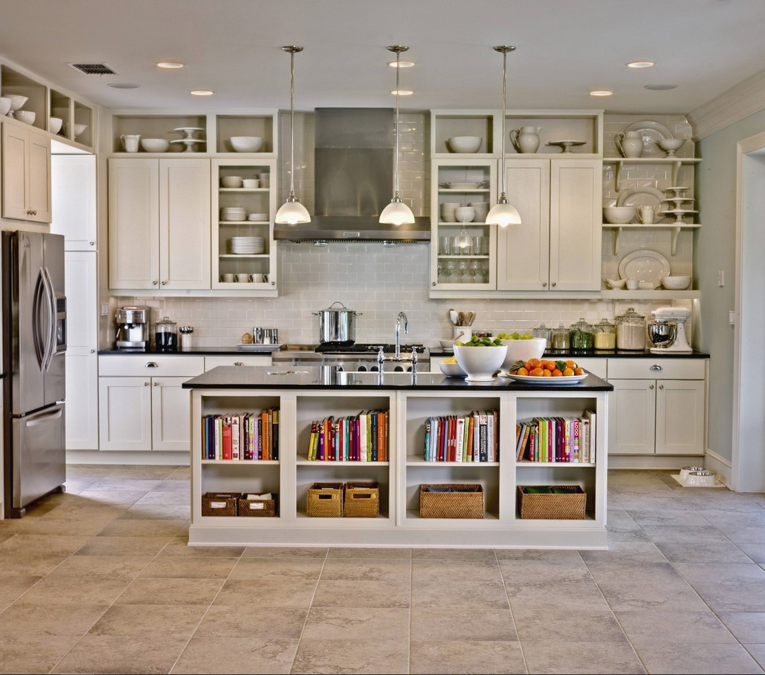 Kitchen Cabinet Without Doors