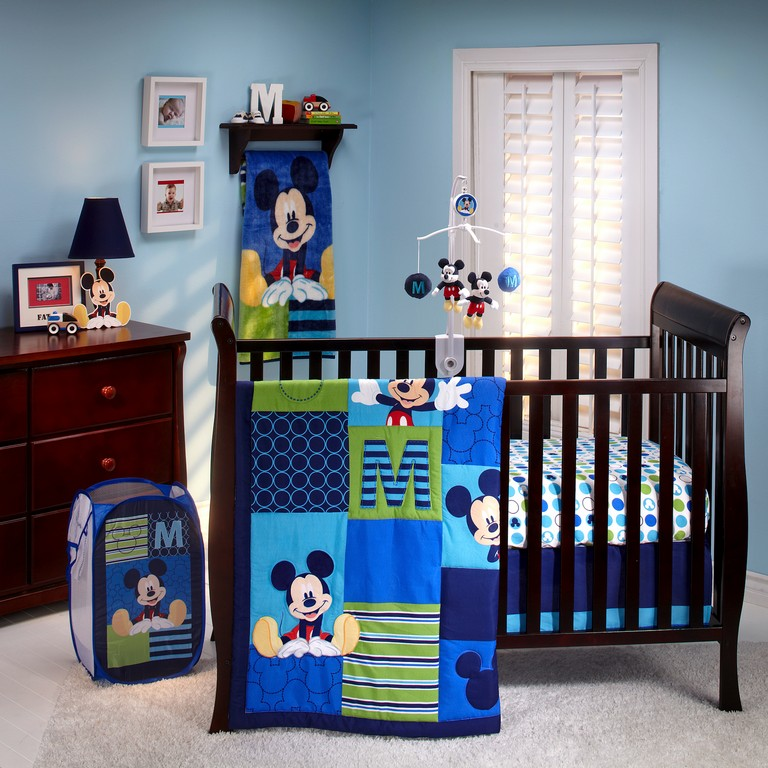Mickey Mouse Crib Bedding Sets
