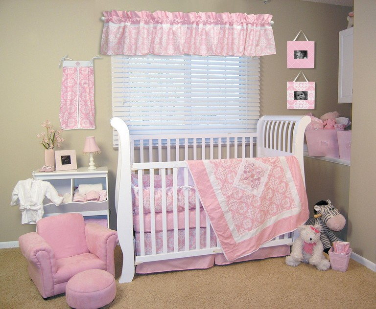 Mini Crib Bedding Sets For Girl