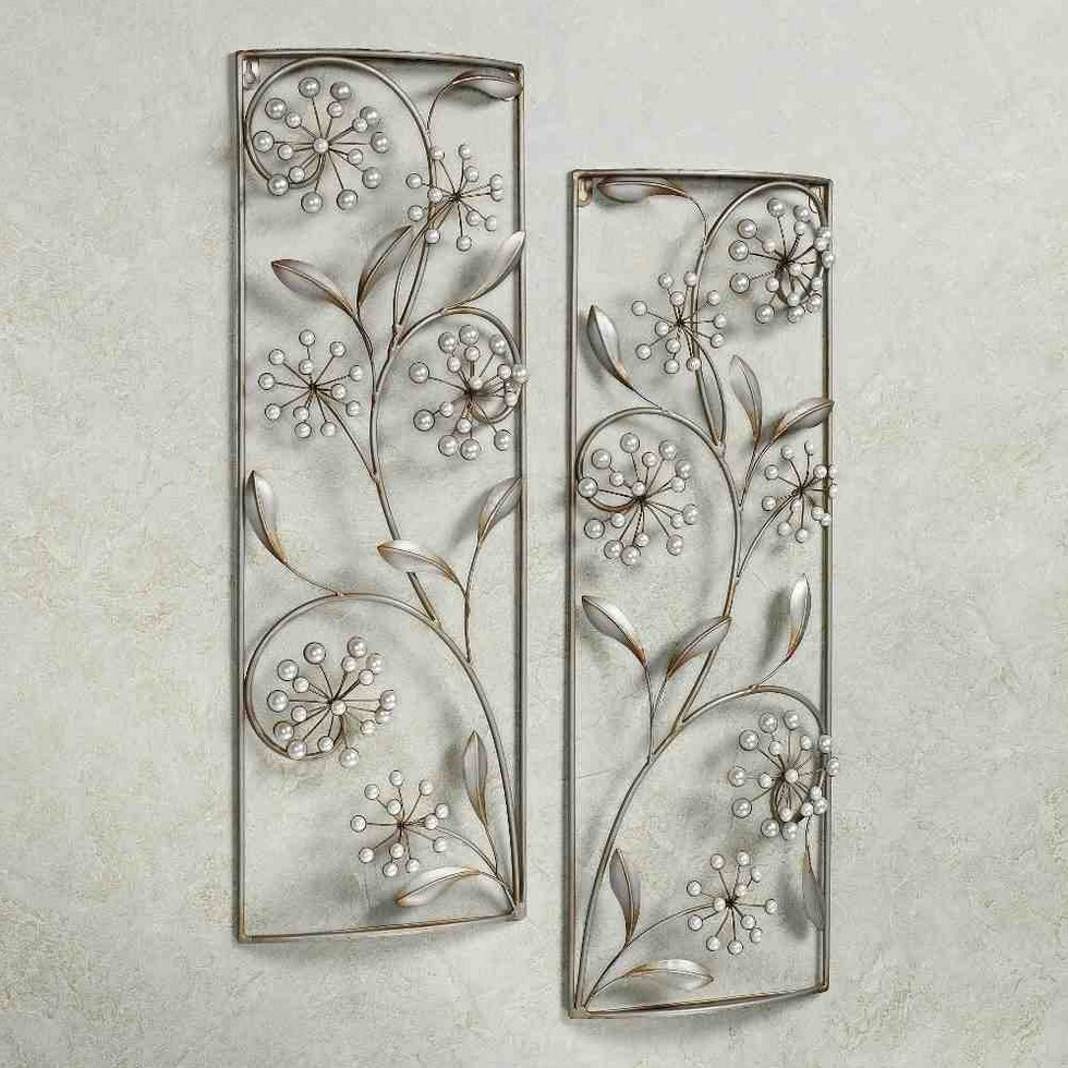 Silver Wall Art Decor