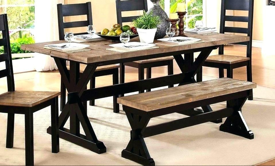 Two Tone Dining Room Sets