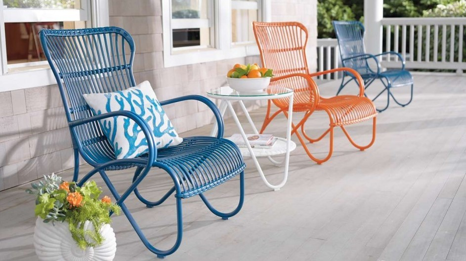Vintage Metal Outdoor Furniture