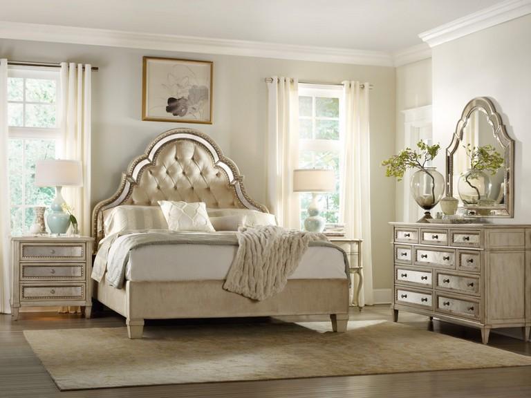 White And Gold Bedroom Furniture