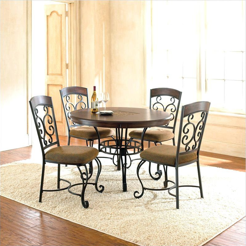 Wrought Iron Dining Room Sets