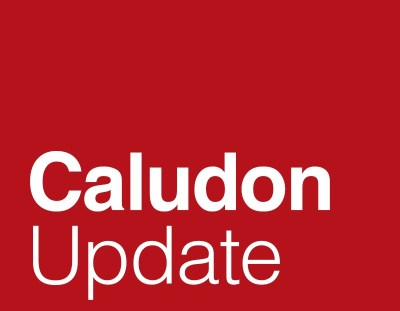 CALUDON UPDATE: Spring 2017