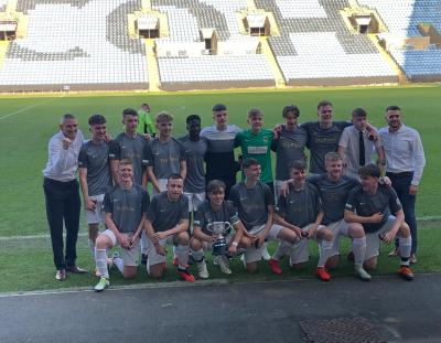 FOOTBALL: U16s romp home to 4-0 victory at the Ricoh