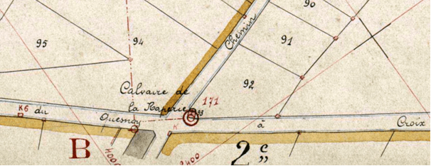 Cadastre 1926 section n° 93 P 31/776