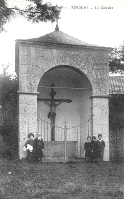 Le calvaire vers 1910