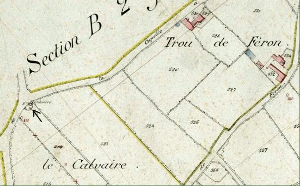 Plan cadastral de 1885