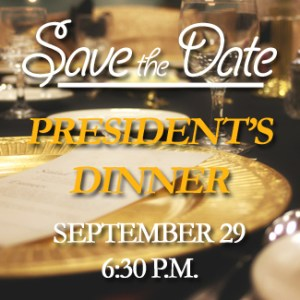"""President's Dinner 2016: """"What Calvary Means to Me"""""""