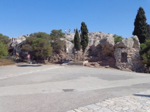 Areopagus in Athens (Mars Hill) - Acts 17:22-34.