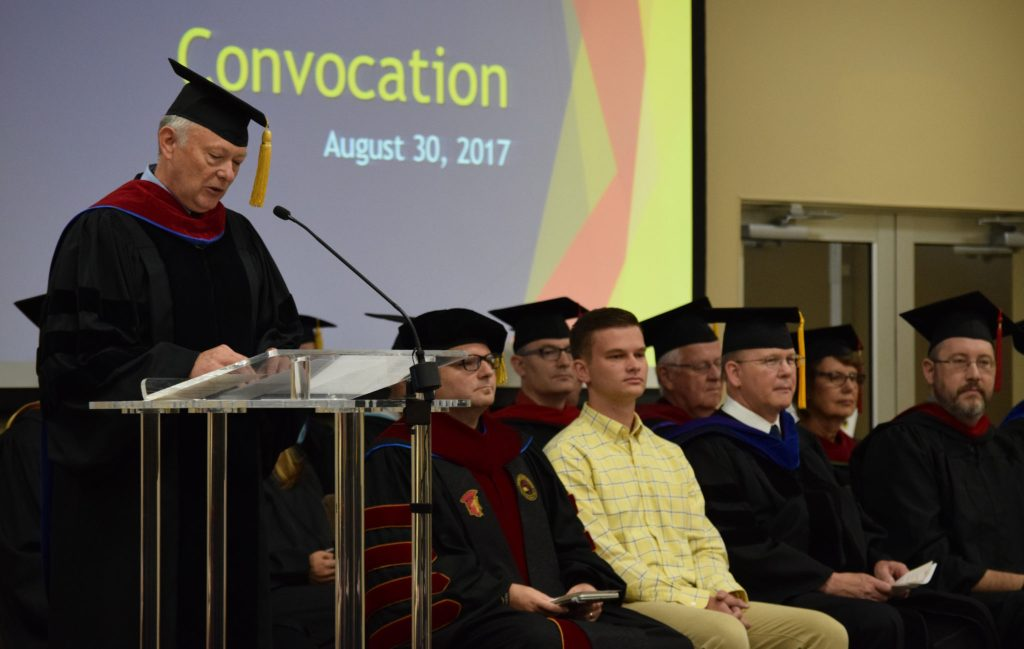 New Students Formally Welcomed at Convocation