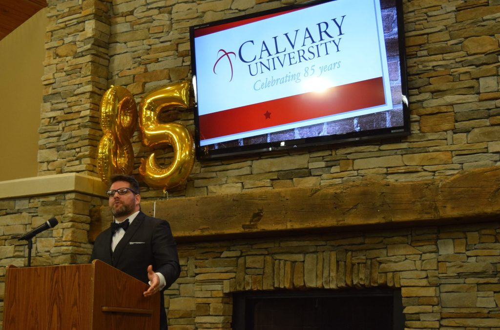 President's Dinner Celebrates 85 Years of Calvary